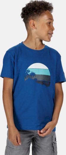 Dětské tričko REGATTA RKT106 Bosley III Modré