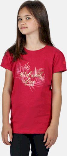 Dětské tričko REGATTA RKT106 Bosley III Růžové