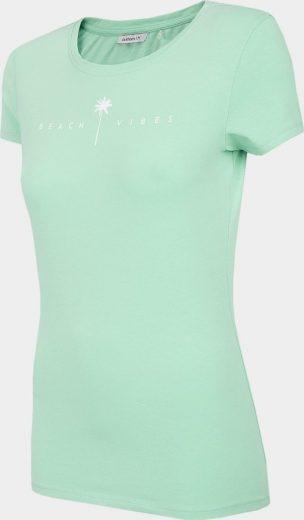 Dámské tričko Outhorn TSD601 Tyrkysové