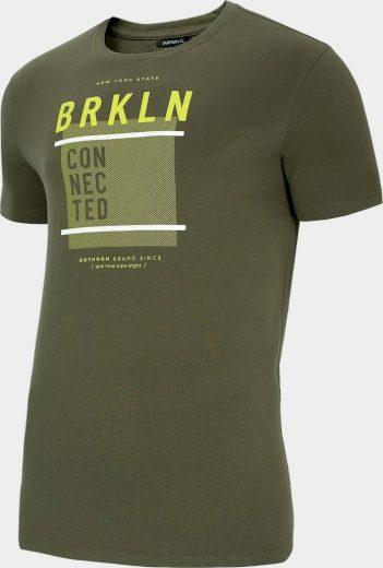 Pánské tričko outhorn TSM619 Khaki