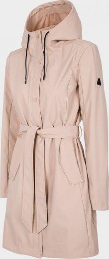 Dámský kabát Outhorn KUD603 Světle růžový