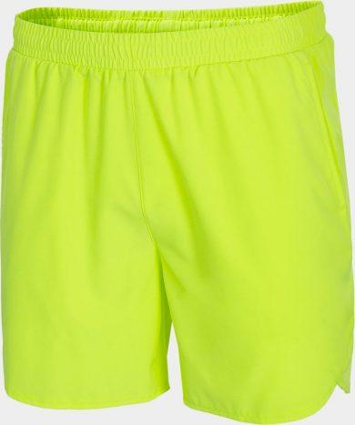 Pánské funkční šortky Outhorn SKMF600 Zelené neon