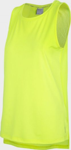 Dámské funkční tílko Outhorn TSDF603 Zelené neon