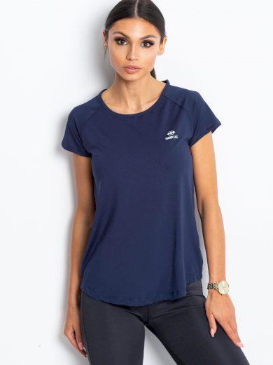 Dámské sportovní tričko v tmavě modré barvě TOMMY LIFE