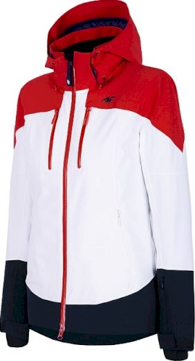 Dámská lyžařská bunda 4F KUDN011 Červená