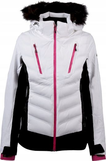 Dámská lyžařská bunda 4F KUDN010 Bílá