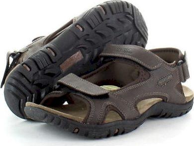 Pánské sandály Regatta RMF331 HARIS Tmavě hnědé