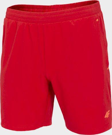 Pánské běžecké šortky 4F SKMF273 Červené