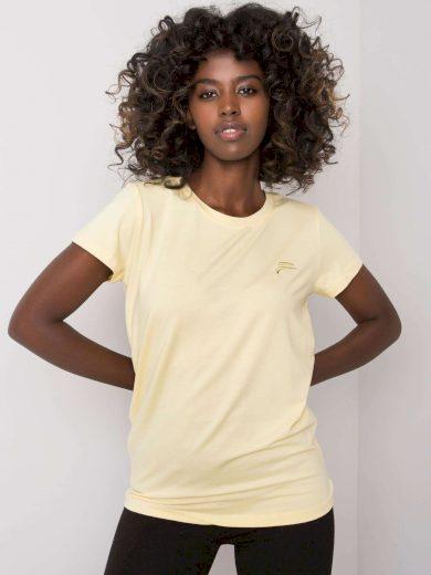 FOR FITNESS Žluté sportovní tričko