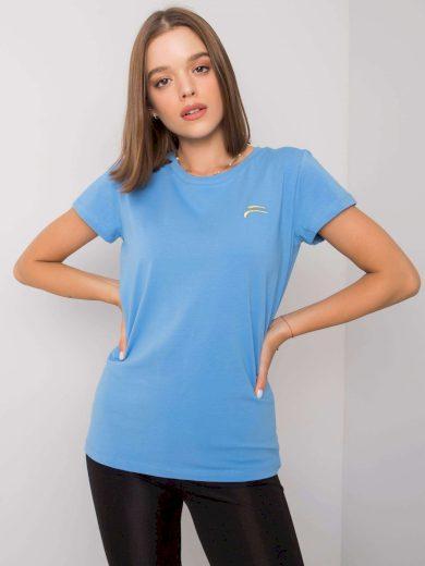 FOR FITNESS Modré sportovní tričko