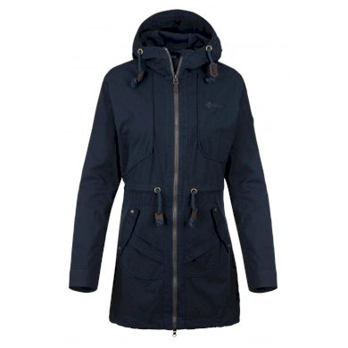 Dámský kabát Pau-w tmavě modrá - Kilpi