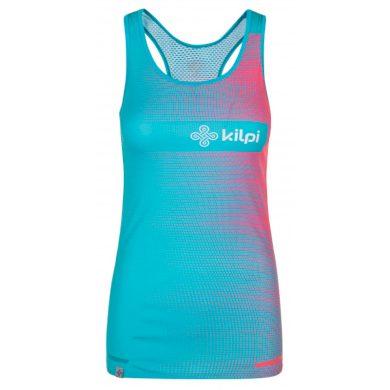 Dámské týmové běžecké tílko Emilio-w modrá - Kilpi