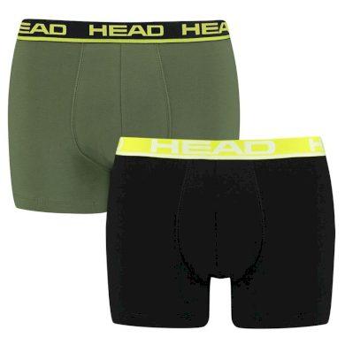 2PACK pánské boxerky HEAD vícebarevné (701202741 001)