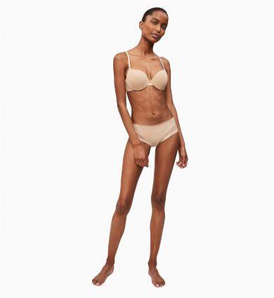 Podprsenka vyztužená QF1739E-20N tělová - Calvin Klein