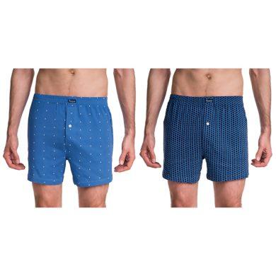 Pánské boxerky COTTON BOXER se vzorem - BELLINDA