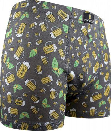 Pánské boxerky VoXX vícebarevné (Kevin-pivo/malé šedé)