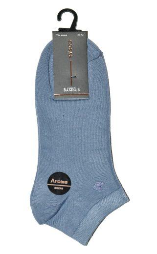 Pánské kotníkové ponožky Ulpio Cosas LB-18 Aroma Bambus