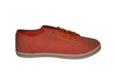 Nízké oranžové tenisky