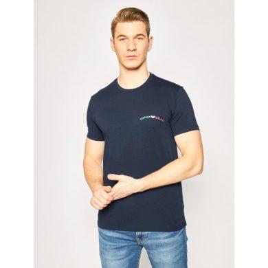 Pánské tričko 110853 0P510 00135 tmavěmodrá - Emporio Armani