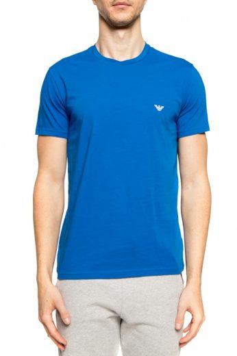Pánské tričko 2pcs 111267 0P720 74820 černomodrá - Emporio Armani