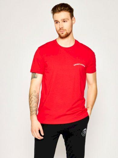 Pánské tričko 110853 0P510 00074 červená - Emporio Armani