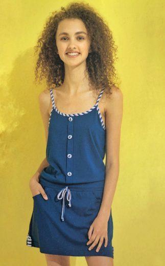 Dámské šaty na ramínka LA1921 - Noidinotte