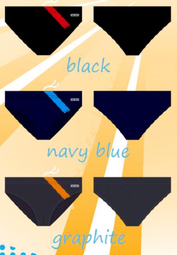 Pánské slipové plavky SESTO SENSO-MAXI - SESTO SENSO