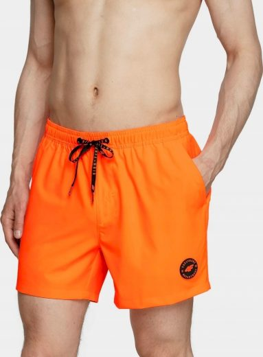 Pánské plavkové šortky 4F SKMT001 oranžové