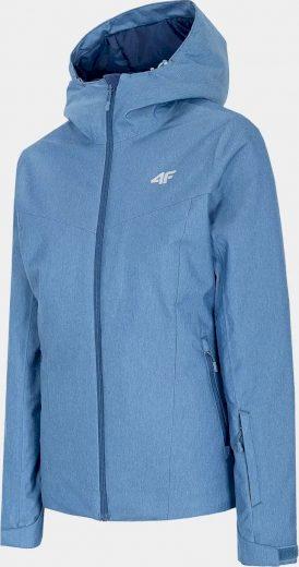 Dámská lyžařská bunda 4F KUDN300 Modrá Denim