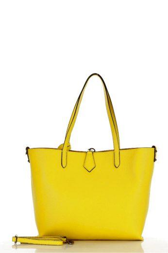 Přírodní kožená taška model 141021 Mazzini