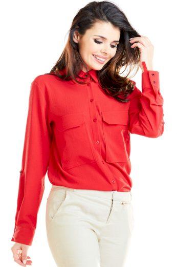 Košile s dlouhým rukávem  model 129925 awama