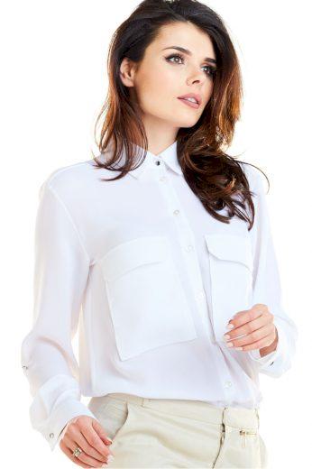 Košile s dlouhým rukávem  model 129926 awama