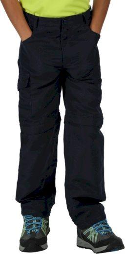 Dětské turistické kalhoty Regatta Sorcer Z/O Trs II 540 modré