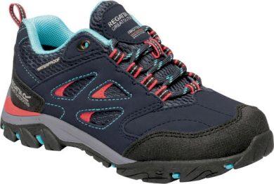 Dětské trekové boty Regatta RKF572 Holcombe Low Černé