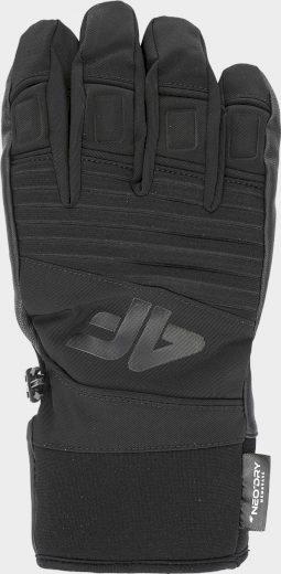 Pánské lyžařské rukavice 4F REM250 Černé