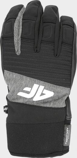 Pánské lyžařské rukavice 4F REM250 Šedé