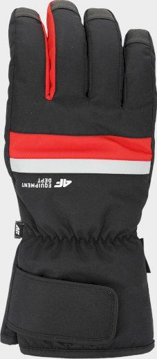 Pánské lyžařské rukavice 4F REM350 Červené