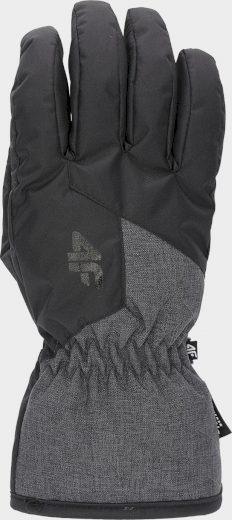 Pánské lyžařské rukavice 4F REM001 Černé
