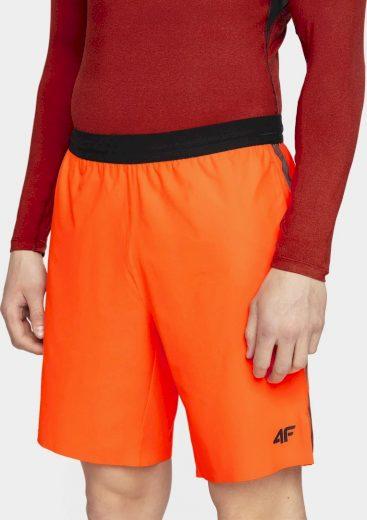 Pánské tréninkové kraťasy 4F SKMF002 oranžová