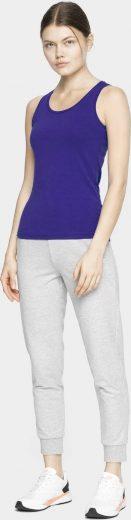 Dámské tričko bez rukávů 4F TSD306 fialová