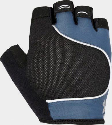 Unisex cyklistické rukavice 4F RRU204 Zelená mořská