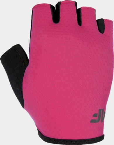Cyklistické rukavice 4F RRU300 Růžové
