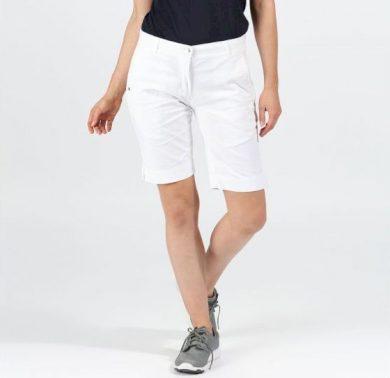 Dámské chino kraťasy Regatta Solita Shorts II 900 bílé