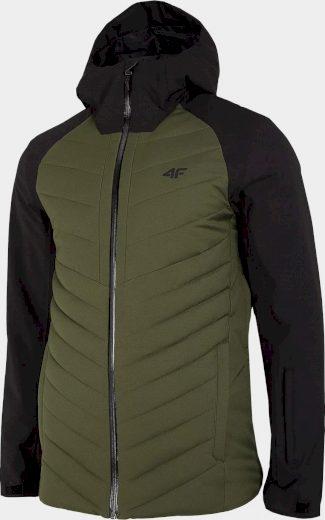 Pánská lyžařská bunda KUMN251 Khaki