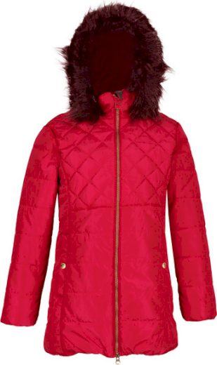 Dětská zimní bunda Regatta RKN093 Bernadine Červená