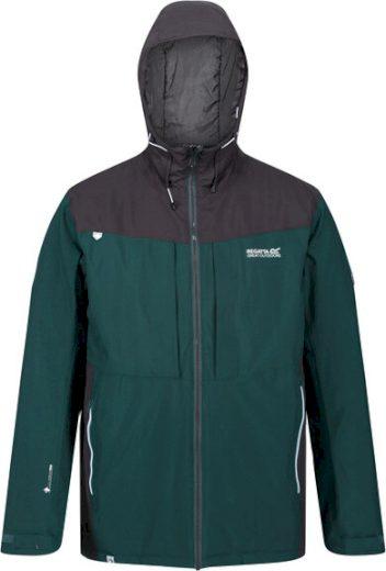 Pánská zimní bunda Regatta RMP296 Highton Stretch Zelená