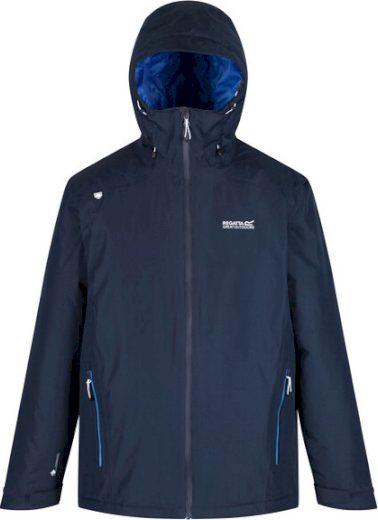 Pánská zimní bund Regatta RMP281 Thornridge II Tmavě modrá