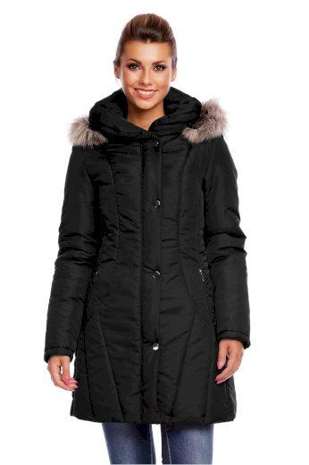 Dámský prošívaný kabát model 63554 - Cabba