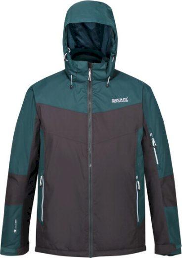 Pánská bunda Regatta RMP298 Fincham Černá_zelená