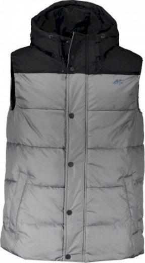 Pánská vesta 4F KUMP304 šedá